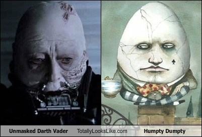 darth vader vs humpty dumpty