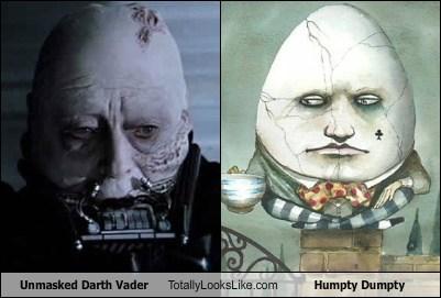 darth vader vs humpty dumpty
